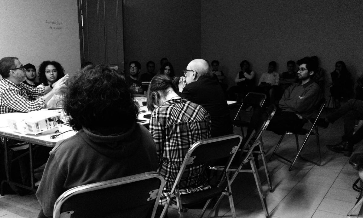 Charla con Francisco Reyes Palma: Contra el estado de guerra, un arte de acción total
